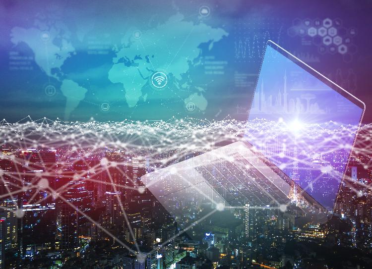 ICT教育とインターネット通信:ネットワーク構成